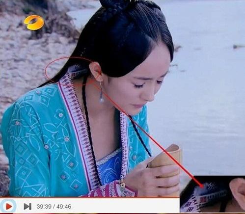 Coi mà tức với loạt lỗi trang phục ở phim Trung: Kéo tới pha rách áo của Địch Lệ Nhiệt Ba mà quạu á! - Ảnh 2.