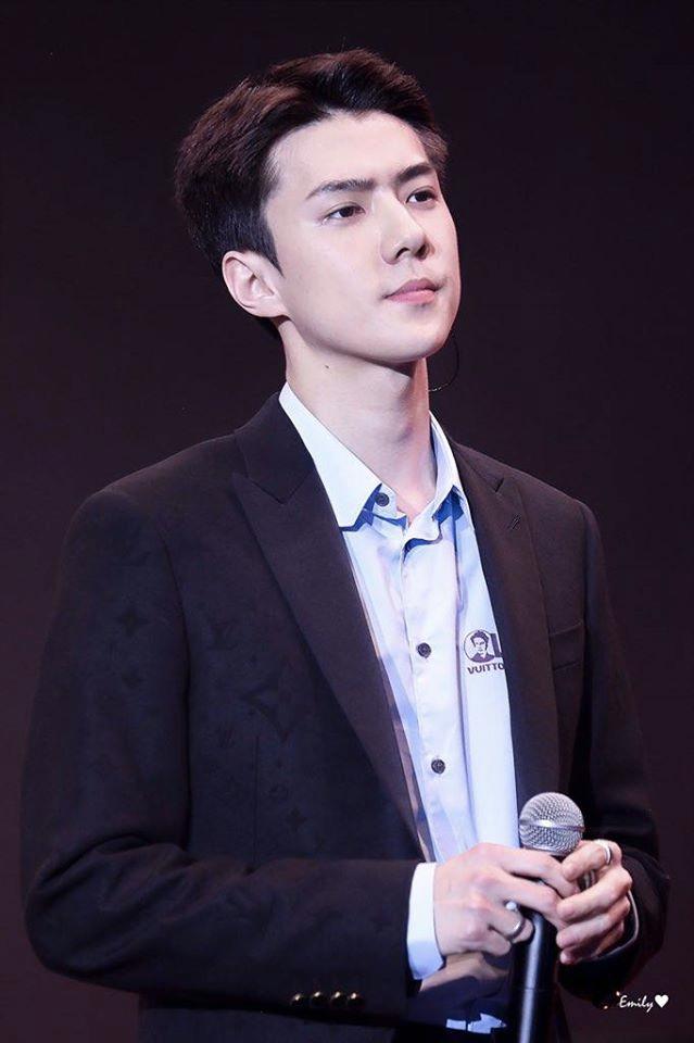 Nhan sắc của người được SM tuyển hụt trên phố Jin (BTS) và người được chọn trên đường Sehun (EXO): Toàn mỹ nam cực phẩm, khí chất như tổng tài - Ảnh 9.