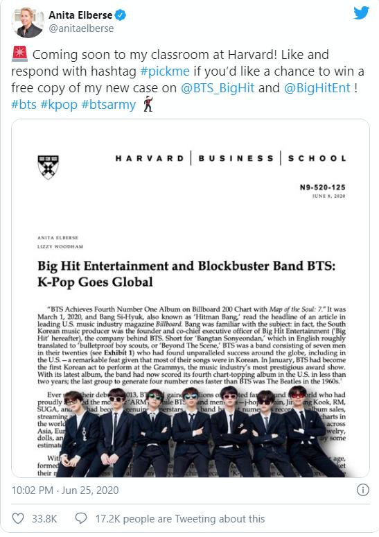 Góc hãnh diện: BTS được đưa vào giáo trình giảng dạy tại Đại học Harvard vì sự thành công toàn cầu của họ, người hâm mộ thậm chí sẽ còn được tham dự lớp học trên! - Ảnh 2.