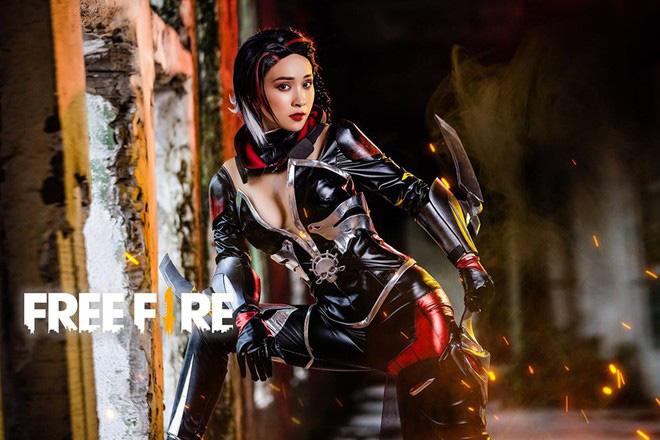 Free Fire tung bộ ảnh cosplay đậm chất điện ảnh, nhưng đường cong gợi cảm của nhân vật nữ mới là tâm điểm chú ý! - Ảnh 2.