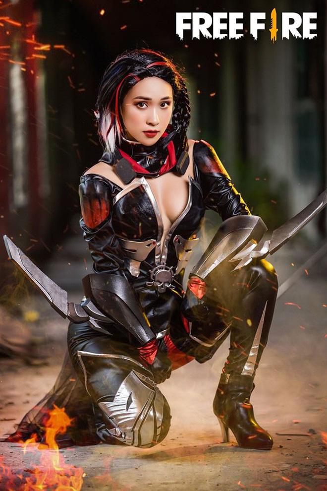 Free Fire tung bộ ảnh cosplay đậm chất điện ảnh, nhưng đường cong gợi cảm của nhân vật nữ mới là tâm điểm chú ý! - Ảnh 6.