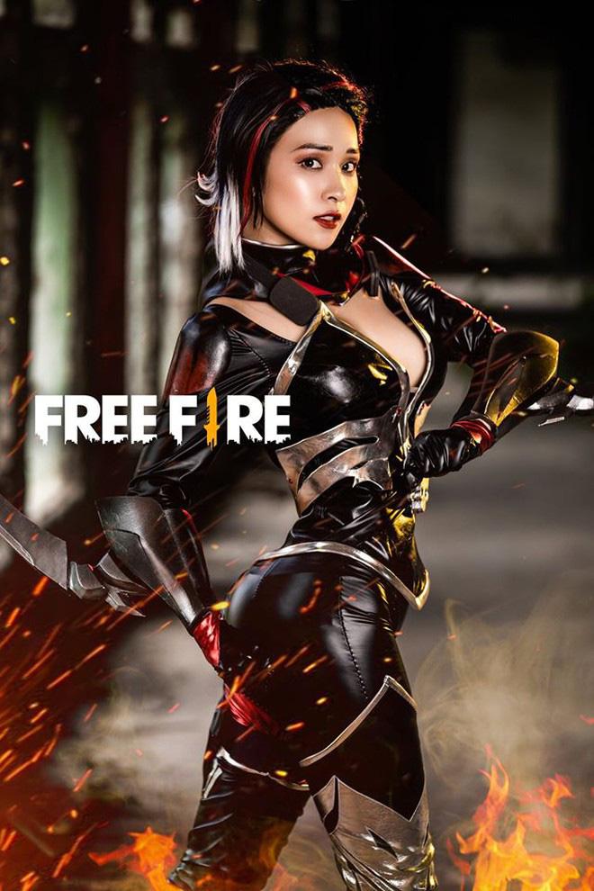 Free Fire tung bộ ảnh cosplay đậm chất điện ảnh, nhưng đường cong gợi cảm của nhân vật nữ mới là tâm điểm chú ý! - Ảnh 7.