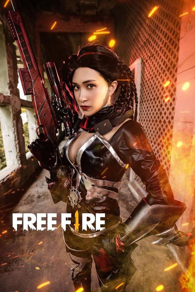 Free Fire tung bộ ảnh cosplay đậm chất điện ảnh, nhưng đường cong gợi cảm của nhân vật nữ mới là tâm điểm chú ý! - Ảnh 8.