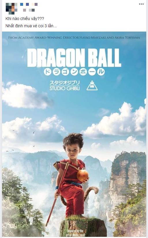 Dân mạng nhũn tim với Goku bé siêu cưng trên poster Bảy Viên Ngọc Rồng của Ghibli nhưng không hay biết mình vừa bị lừa? - Ảnh 2.