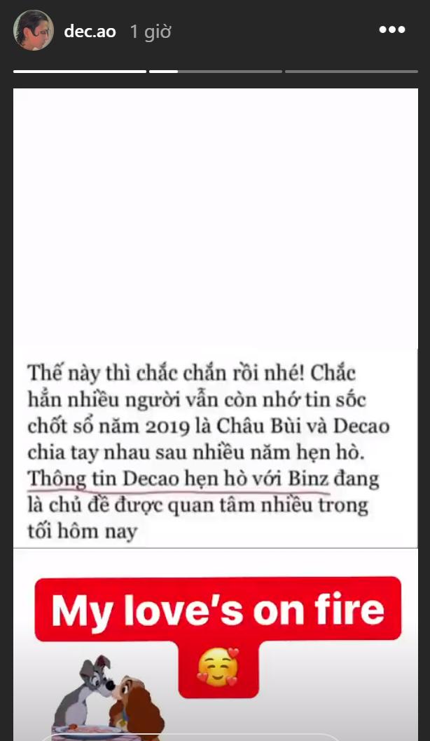 Chuyện không thể ngờ: Binz được Decao công khai thả thính trên Instagram, Châu Bùi từ nữ chính ngôn tình thành nữ phụ - Ảnh 2.