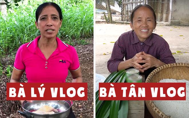 Trong khi bị Bà Lý Vlog bắt chước cách làm clip thì Bà Tân Vlog đã có động thái mới gần nửa tháng nay - Ảnh 1.