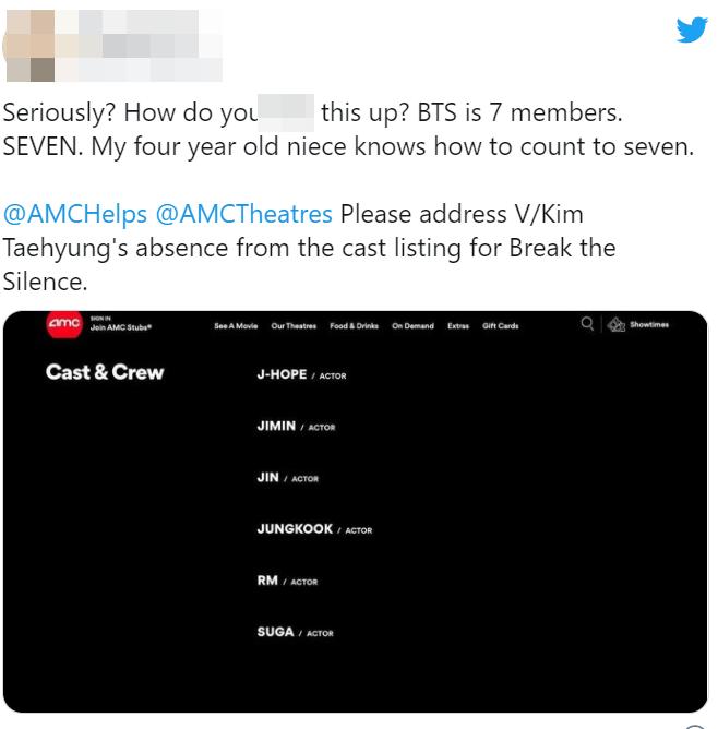 Nổi nhất nhì nhóm nhưng V tiếp tục bị bỏ quên trong phim tài liệu mới khiến ARMY náo loạn Twitter, phẫn nộ khẳng định BTS có 7 người! - Ảnh 10.