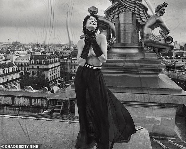 Bà bầu hot nhất Hollywood Gigi Hadid đốt mắt netizen với bộ ảnh bán khoả thân: Vòng 1 căng tràn thả rông, thần thái ngút ngàn - Ảnh 6.