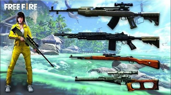 Free Fire: Bật mí 7 khẩu súng mạnh nhất phiên bản OB23 giúp game thủ leo rank vèo vèo! - Ảnh 1.