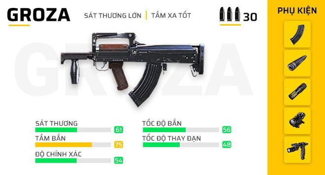 Free Fire: Bật mí 7 khẩu súng mạnh nhất phiên bản OB23 giúp game thủ leo rank vèo vèo! - Ảnh 4.