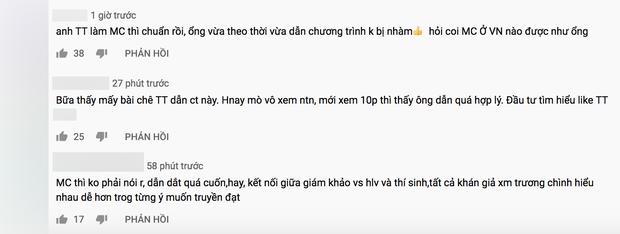 Nhặt sạn tập 1 Rap Việt: Đôi lúc thời gian nói hơi nhiều, vẫn không ít ý kiến xoay quanh MC Trấn Thành - Ảnh 3.