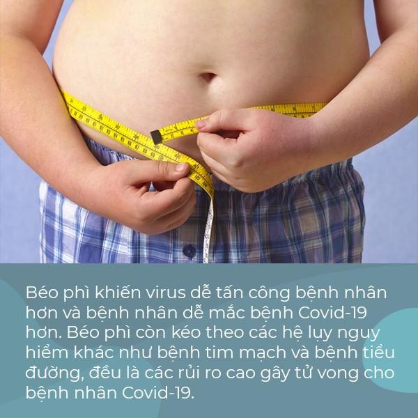 Chuyên gia cảnh báo: Người thừa cân, béo phì có nguy cơ tử vong cao hơn khi mắc Covid-19 - Ảnh 1.