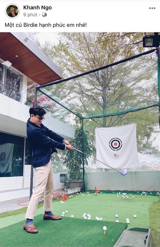 Thế Thịnh đầy tâm trạng, Khánh Ngô đăng hình chơi golf sau khi Hương Giang thành đôi với CEO Matt Liu - Ảnh 5.