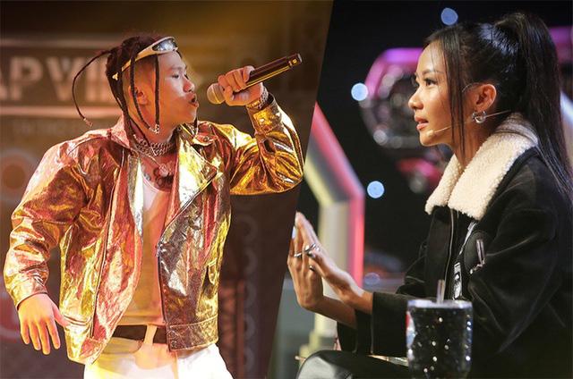 Hóa ra Suboi là người gợi ý cho Wowy tung nón vàng cứu học trò Karik ở Rap Việt! - Ảnh 1.