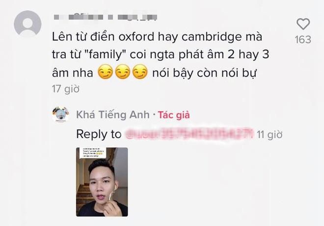 YouTuber chuyên đi bóc phốt tiếng Anh bị dân mạng bật ngược lại vì phát âm sai 1 từ cơ bản - Ảnh 2.