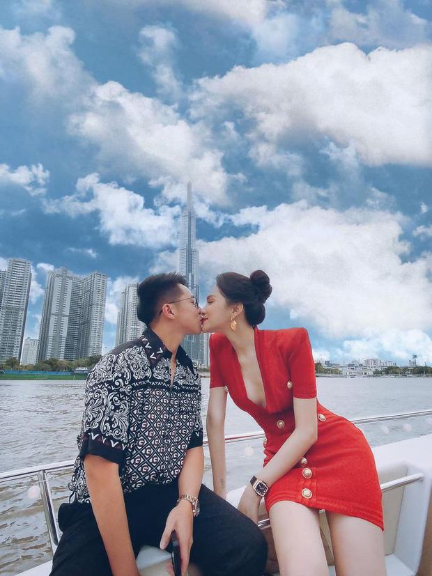 Clip toàn cảnh tiệc du thuyền Hương Giang - Matt Liu và hội bạn thân, hé lộ cảnh khóa môi full không che với bạn trai CEO - Ảnh 3.