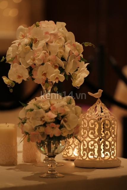 Những hình ảnh hiếm hoi trong tiệc cưới Hà Tăng 30