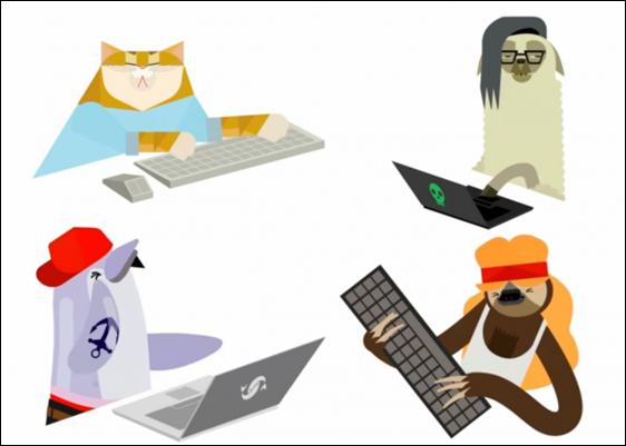 Tập đánh đàn cùng... Google Chrome 5