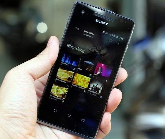 """Trên tay Sony Xperia V - smartphone chống nước """"đỉnh"""" 14"""