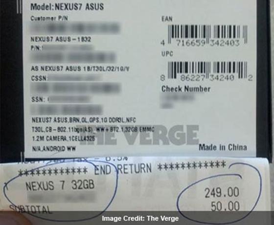 Choáng với Nexus 7 giá 2 triệu đồng 2