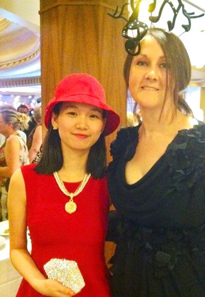 """Người đẹp Việt """"lọt"""" vào tiệc hoàng gia của Công quốc Monaco 2"""
