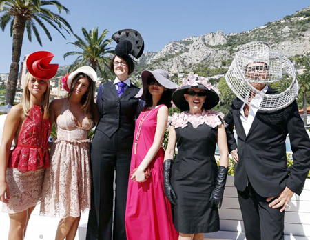 """Người đẹp Việt """"lọt"""" vào tiệc hoàng gia của Công quốc Monaco 8"""