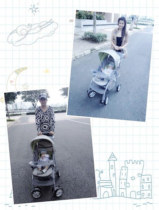 Ảnh dễ thương của gia đình Tim - Trương Quỳnh Anh 3