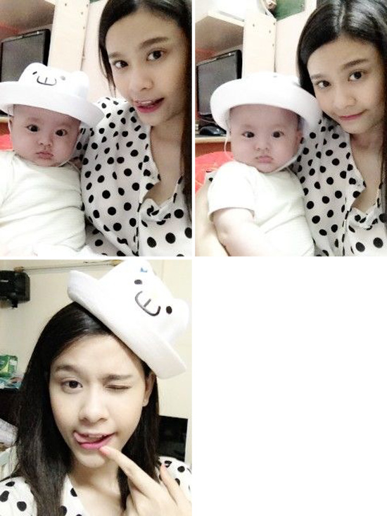 Ảnh dễ thương của gia đình Tim - Trương Quỳnh Anh 8