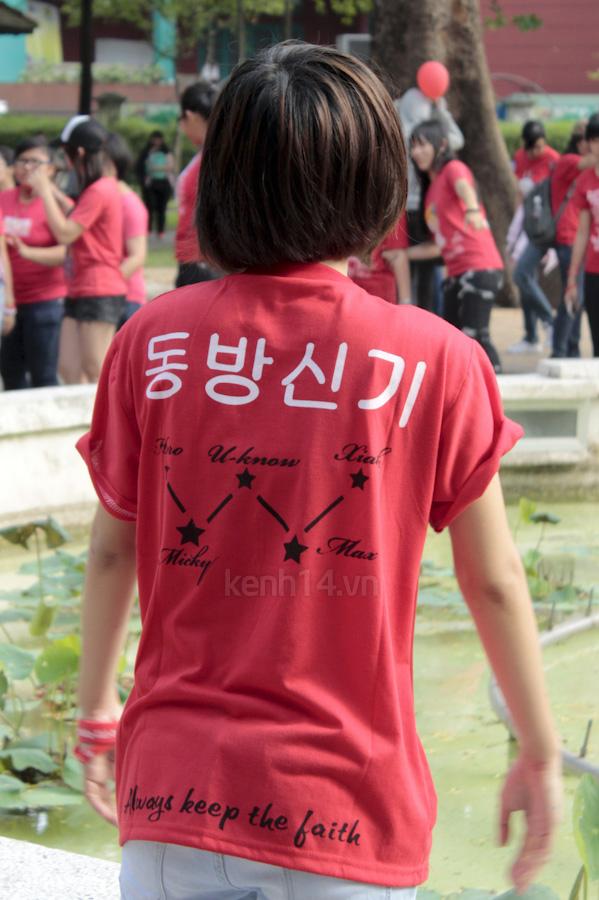 Teen Sài Gòn mặc áo dài nhảy flashmob đón Jae Joong 4