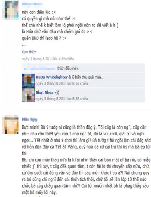 Học sinh có nên bình luận về thầy cô trên Facebook? 2