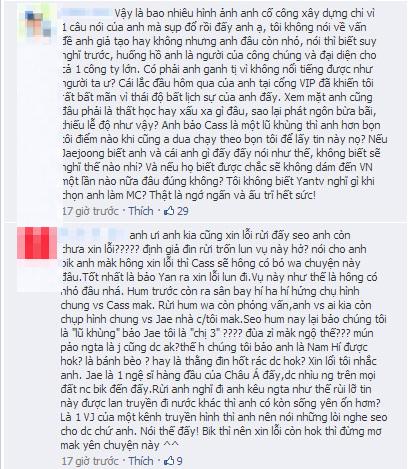 Fan tẩy chay VJ Việt có hành động thiếu tế nhị với JaeJoong 3