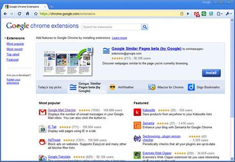 Google Chrome 4 ra mắt phiên bản ổn định