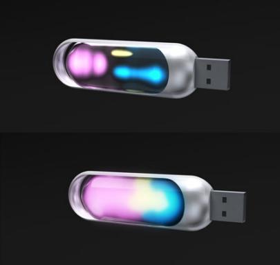 USB trong suốt thương hiệu Mac Funamizu