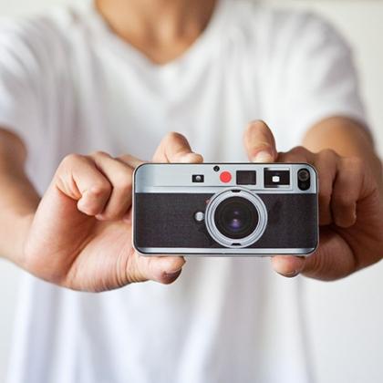 Bộ cánh máy ảnh xì kul dành cho iPhone 4