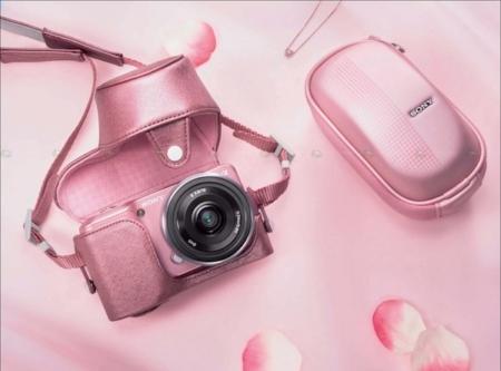 Máy ảnh Sony Nex 3 Màu Hồng Ton Sur Ton