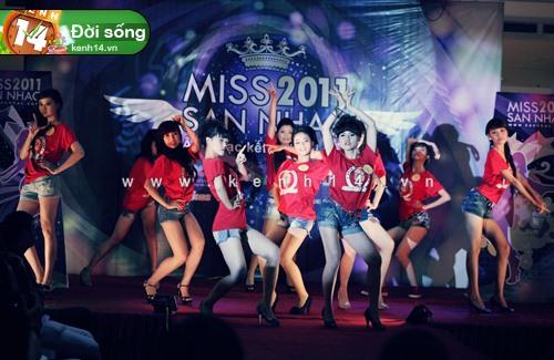 Toả sáng với Miss Sàn Nhạc 2012 2