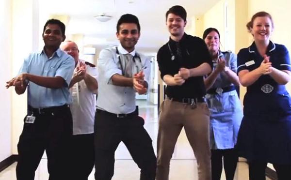 """Bác sĩ nhảy Gangnam Style nhân """"Ngày rửa tay toàn cầu"""""""