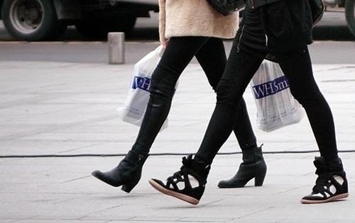 """Wedge Sneaker - xu hướng giày """"độn"""" cực cá tính 2"""