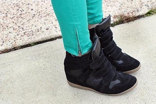 """Wedge Sneaker - xu hướng giày """"độn"""" cực cá tính 4"""