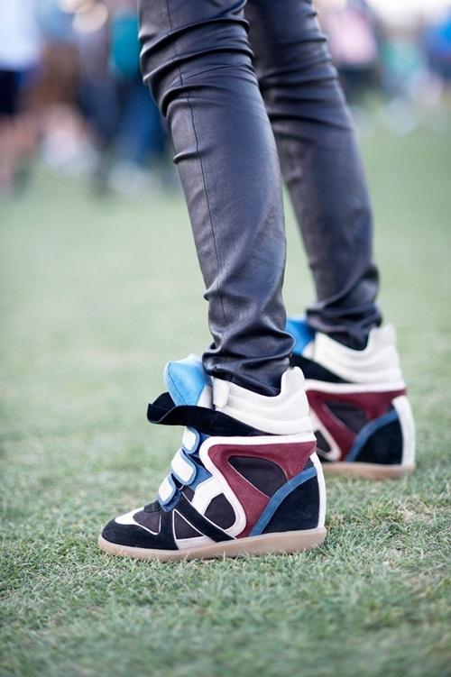 """Wedge Sneaker - xu hướng giày """"độn"""" cực cá tính 5"""