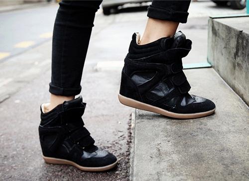 """Wedge Sneaker - xu hướng giày """"độn"""" cực cá tính 6"""