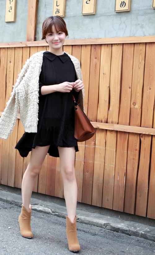 """Mix đồ phong cách với """"hot item"""": Áo len xù 18"""
