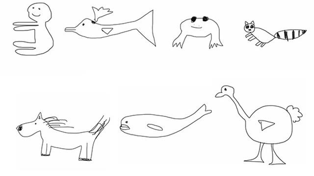 Nhà động vật học thực sự thì chỉ nhìn hình vẽ cũng đoán được ...