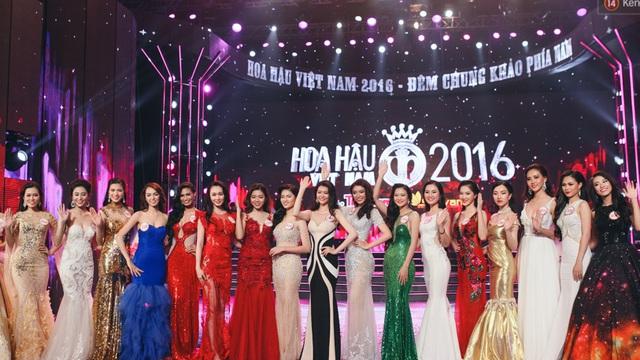Top 20 thi sinh hoa hau viet nam 2012