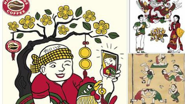 """Đương đại hóa tranh Đông Hồ"""": Dự án khiến giới trẻ hào hứng"""