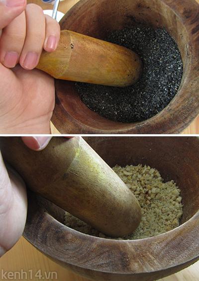Bánh trôi tàu lá dứa xanh mướt ngọt lịm 8