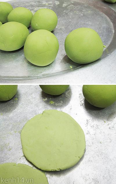 Bánh trôi tàu lá dứa xanh mướt ngọt lịm 11