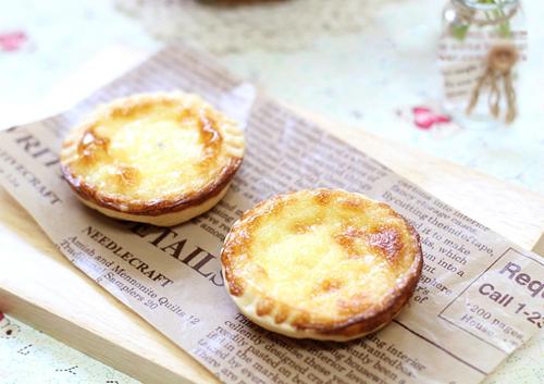 Bánh tart trứng mềm mịn giòn tan chào ngày mới 7