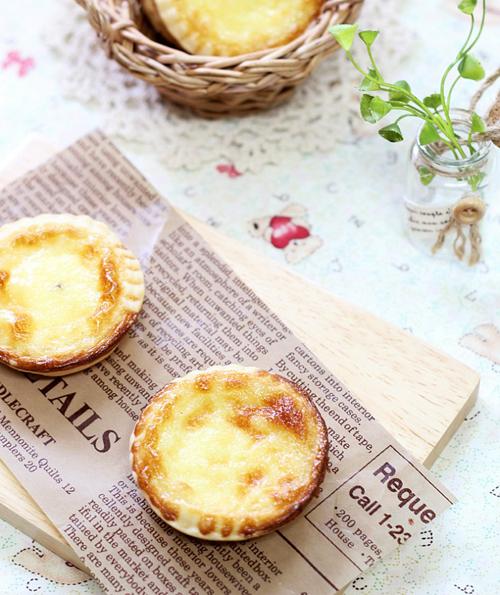 Bánh tart trứng mềm mịn giòn tan chào ngày mới 8