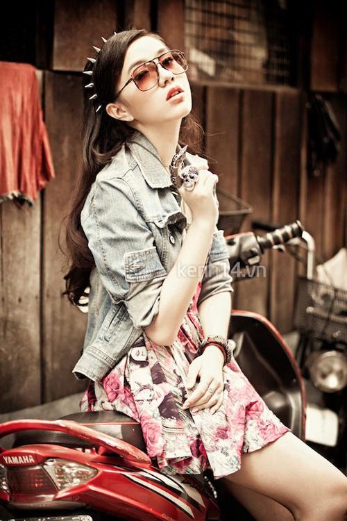 Điểm danh 5 hot girl mặc đẹp nhất năm 2012 5